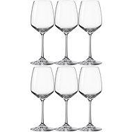 BOHEMIA CRYSTAL Sklenice na bílé víno 340 ml GISELLE 6ks - Sklenice na víno