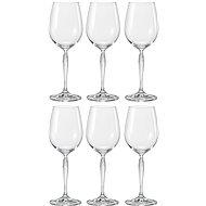 BOHEMIA CRYSTAL Sklenice na bílé víno 340ml KEIRA 6ks - Sklenice na víno