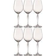 BOHEMIA CRYSTAL Sklenice na bílé víno 440ml KEIRA 6ks - Sklenice na víno