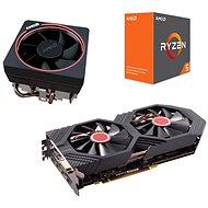 AMD akční balíček 3: VGA + CPU + Chladič - Set