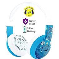 BuddyPhones Wave - Robot, modrá - Bezdrátová sluchátka