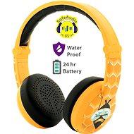 BuddyPhones Wave - Bee, yellow - Wireless Headphones