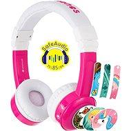 BuddyPhones Inflight, růžová - Sluchátka