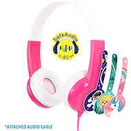 BuddyPhones Discover, růžová - Sluchátka