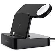 Belkin PowerHouse Charge Dock pro Apple Watch + iPhone černý - Nabíjecí stojánek