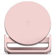 Belkin Boost Up Bold Qi Wireless Charging Stand Pink - Nabíjecí podložka