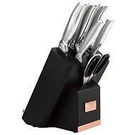 BerlingerHaus Sada nožů ve stojanu s držákem na tablet a brouskem 7ks BH-2339
