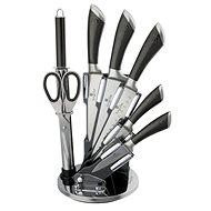 BerlingerHaus Sada nožů ve stojanu 8ks Carbon Metallic Line - Sada nožů