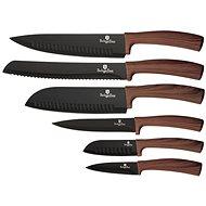 BerlingerHaus Sada kuchyňských nožů 6ks Forest Line hnědý BH-2284 - Sada nožů