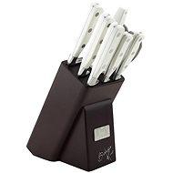 BerlingerHaus Sada nožů v dřevěném stojanu nerez 8ks - Sada nožů