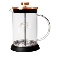 BerlingerHaus Konvička na čaj a kávu French Press 350 ml Rosegold Metallic Line BH-1493 - French press