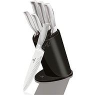 BerlingerHaus Sada nožů v bloku Carbon Metallic Line 6ks - Sada nožů
