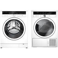 GRUNDIG GWN47634 + GRUNDIG GTN37250MGCS - Washer and dryer set