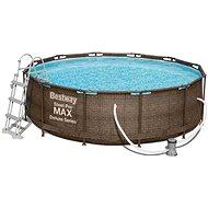 BESTWAY Steel Pro MAX Pool Set 3.66m x 1.00m  - Bazén