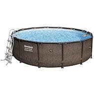 BESTWAY Power Steel Deluxe Series Pool Set 4.27m x 1.07m  - Bazén