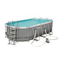 BESTWAY Oval Pool Set 5.49m x 2.74m x 1.22m - Bazén