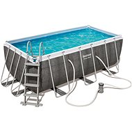 BESTWAY Rectangular Pool Set 4.12m x 2.01m x 1.22m - Bazén