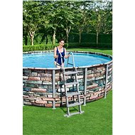 BESTWAY Power Steel Pool Set 4.88m x 1.22m  - Bazén