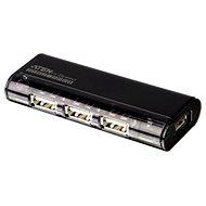 ATEN USB 2.0 HUB 4-portový bez napájení magnetický - černý - USB Hub