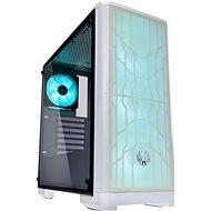 BitFenix Nova Mesh TG RGB White - Počítačová skříň