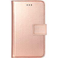 Bigben FOLIOUNIVXSP2 růžově zlaté - Pouzdro na mobilní telefon