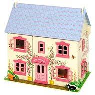 Růžový dětský domeček pro panenky - Doplněk pro panenky