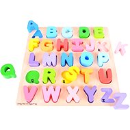 Bigjigs Wooden Chunky Alphabet Puzzle - Educational Toy