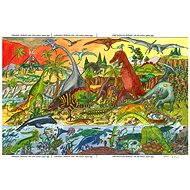 Dřevěné puzzle - Dinosauři - Puzzle