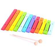 Dřevěný xylofón - Hudební hračka