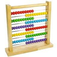 Dřevěné počítadlo - Didaktická hračka