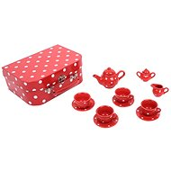 Red polka dot tea set - Game set