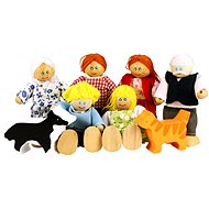Set rodinky do domečku - Figurky