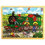 Bigjigs Wooden puzzle - Train - Puzzle