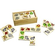 Wooden Dominoes - Safari - Board Game