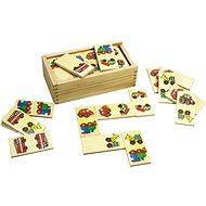 Dřevěné domino - Dopravní prostředky - Domino