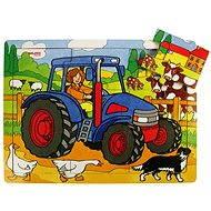 Dřevěné puzzle - Traktor - Puzzle