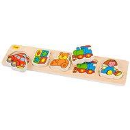 Dřevěné široké vkládací puzzle - Hračky - Puzzle