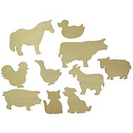 Bigjigs Wooden Stencils Pets - Creative Kit