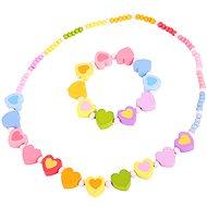 Bigjigs Beads and Bracelet - Hearts - Creative Kit