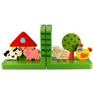 Opěrky knih - Farma - Dekorace do dětského pokoje
