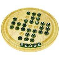 Dřevěná dětská hra - Solitér - Hra