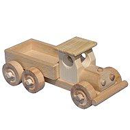 Dřevěné nákladní auto s korbou - Dřevěný model