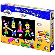 Detoa Magnetické puzzle Děti - Puzzle