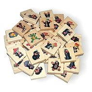 Wooden Memory game- Little Mole  - Memory game