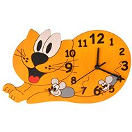 Kids' Wooden Clock - Cat - Children's Clock