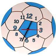 Dětské dřevěné hodiny - Modrý míč - Hodiny do dětského pokoje