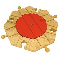 Bigjigs 8 Way Turntable - Rail set accessory