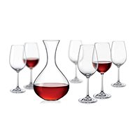 Crystalex Set na víno Viola (1 karafa + 6 sklenic) - Karafa