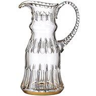Bohemia Crystal Ručně broušený džbán Daisy Line Gold 1200ml - Džbán