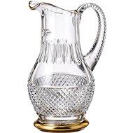 Bohemia Crystal Ručně broušený džbán Felicie Line Gold 1,3l  - Džbán